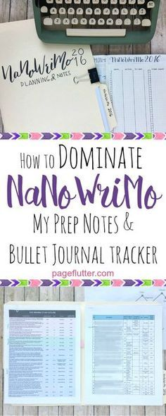 NaNoWriMo is upon us