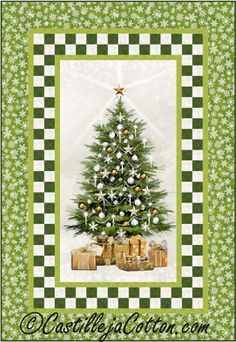 White Christmas Quilt Pattern 4911-2