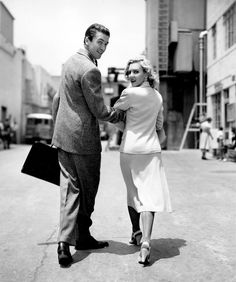James Stewart and Jean Arthur during production on MR. SMITH GOES TO WASHINGTON, 1939.
