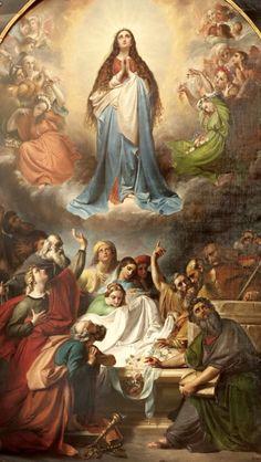 Asunción de Maria Ssma en cuerpo y alma a los cielos
