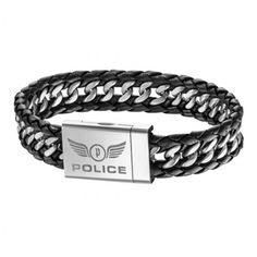 POLICE ATTACK Bracelet   PJ25332BLB01-L