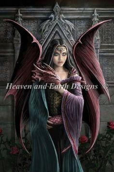 Soul Mates [STOKES101] - : Heaven And Earth Designs, cross stitch, cross stitch patterns