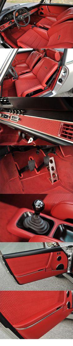 Red guts #butzigear #vintage #industrial #lifestyle #aircooled #porsche #porscheshop #connecticut