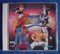 Audio CD ( The King of Fighters 95 Neo Geo CD Japanese ) http://www.japanstuff.biz/ CLICK THE FOLLOWING LINK TO BUY IT ( IF STILL AVAILABLE ) http://www.delcampe.net/page/item/id,0373937763,language,E.html
