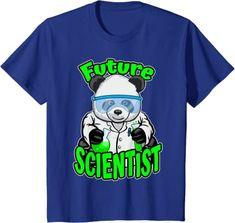 Amazon.com: Future Scientist Cute Panda Bear STEM Science Geek T-Shirt: Clothing