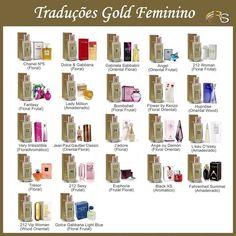 Traduções Gold Hinode Feminino #perfumes #perfume #michaelkors #carolinaherrera #perfumeimportado