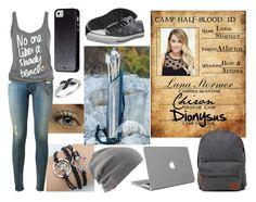 """Random Demigod #4"" by heroesofolympus-236 ❤ liked on Polyvore featuring moda, Converse, Vans, Case-Mate ve rag & bone"