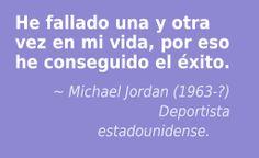 Michael Jordan (1963-?) Deportista estadounidense.