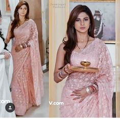 Pakistani Fashion Party Wear, Party Wear Sarees, Pakistani Dresses, Indian Dresses, Indian Outfits, Indische Sarees, Indian Bridal Sarees, Modern Saree, Indian Look