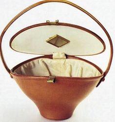 1930 Elsa Schiaparelli, Basket bag, Schiaparelli vintage fashion - http://david-toms.blogspot.ca/2010_07_21_archive.html