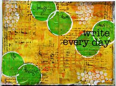 Miss Marple: art journal