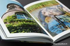 Fotoalbum 20x25 aperto con copertina rigida http://shop.easyalbum.it/fotoalbum