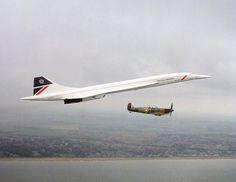 "centreforaviation: ""Two legends in flight """