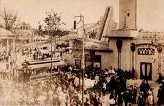 Photo postcard of Forest Park Amusement Park, Forest Park, IL. (1907-1922)