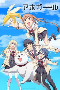 "Crunchyroll - Crunchyroll Announces ""AHO-GIRL"", ""Elegant Yokai Apartment Life"", ""Netsuzou Trap -NTR-"", and ""Tsuredure Children"" at Anime Expo"