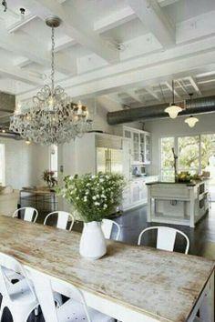 Enchanting Hamptons Beach House Living Room