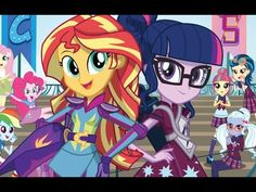 MLP : Equestria Girls - Friendship Games - Pinkie Spy (EXCLUSIVE Short) #2 - YouTube