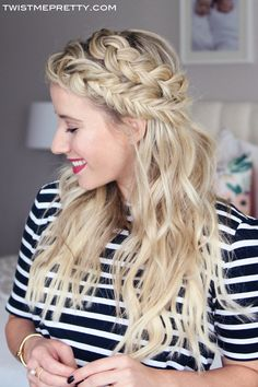 A gorgeous mixed braid plus secrets on how to keep extensions hidden!