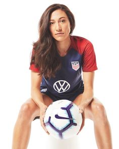 "Christen Press, USWNT, Locale Magazine article dated May ""Staying Grounded Is the Name of the Game for Soccer Star Christen Press,"" by Deanna Nguyen (Photography: Travis McCoy) Cool Football Boots, Women's Football, Soccer Poses, Volleyball Photography, Soccer Motivation, Barcelona Soccer, Fc Barcelona, Manchester United Soccer, International Football"