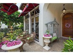 1326 Noble Heron WAY, Naples, Fl 34105 | welcoming entry in Estuary at Grey Oaks -