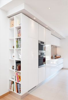 Personalize of DIY Kitchen Windows miniature white kitchen design armony daumesnil extreme white finish sigma model, Paris area, Séverine Kalensky – interior architect