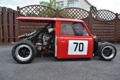 Well, it used to be a classic Mini once. Classic Mini, Classic Cars, Bmw E36, John Cooper Works, E36 Coupe, Mini Morris, Mini Clubman, Smart Car, Mini Cooper S
