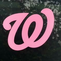 Pink Washington Nationals decal,die cut vinyl sticker window bumper ladies decal | Sports Mem, Cards & Fan Shop, Fan Apparel & Souvenirs, Baseball-MLB | eBay!