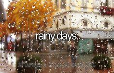 Rainy days on We Heart It