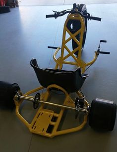 HR Drift Trike - love it. Like an adult sized big wheel. It just needs a 12hp motor in back!