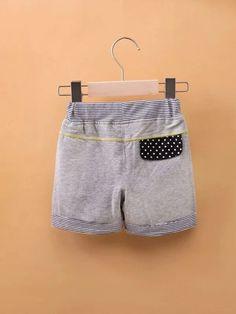 Toddler Girls Stripe Pattern Track Shorts – Kidenhouse