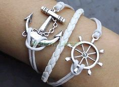 Anchor love Jewlery and bracelet anchor jewlery by ModernLeisure, $6.99