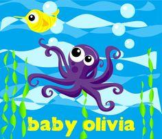Baby Olivia, Iron On Transfer, Sea Creatures, Vector File, Little Babies, Giraffe, Pikachu, Diy, Fictional Characters