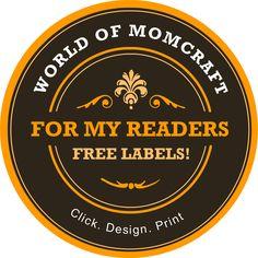 Free canning label maker~