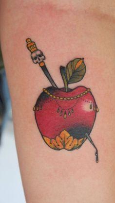 Apple tattoo