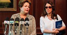 27-01-2013 - CHILE - Com a voz embargada, a presidente DILMA ROUSSEFF declarou que não participaria mais da reunião da cúpula dos países da AMERICA LATINA com a UNIÃO EUROPEIA, que acontece em SANTIAGO e que  viajará para SANTA MARIA, no RIO GRANDE do SUL, onde um incêndio em uma boate deixou mais de cem mortos e 200 feridos. Ela chorou ao comentar a tragédia e disse que o povo brasileiro precisa dela nesse momento. Photo  Roberto Stuckert Filho/Divulgação Presidência da República.