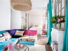 apartamento decoração boho, blog Achados de Decoração