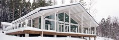 Polar 176 - Деревянные дома - дома премиум-класса Lumi Polar