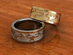 www duckbandbrand custom pendant duck band rings