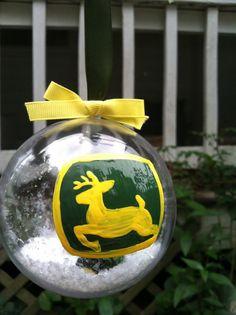 John Deere Ornament