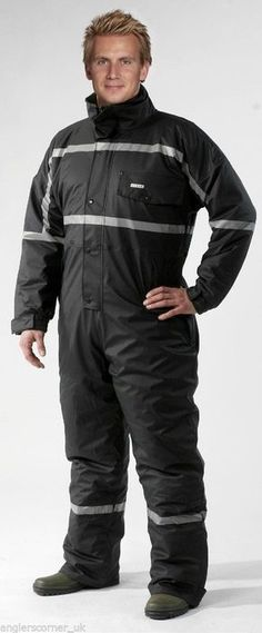 Ocean Padded Thermo Work Wear PU Coverall / Thermal / Fishing / 20-5450-29 | eBay