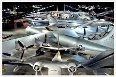 The National Museum Of The United States Air Force.   Wright Patterson Air Force Base, Dayton, Ohio