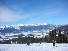 Keystone, Colorado....my first ski trip!  Loved skiing, hot tub, and great Colorado beers!