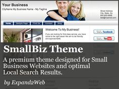 Time saving & easy – SmallBiz theme used to build local business websites that look professional.