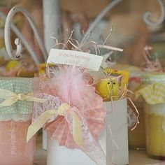 Spring Chick baby theme shower.