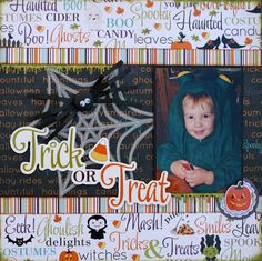 Trick or Treat - Scrapbook.com