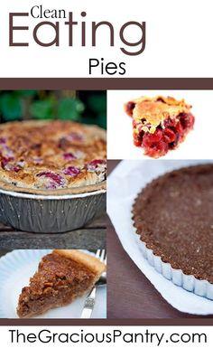 Clean eating pies