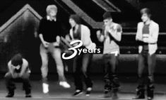 (GIF)  Even though I haven't been there since the very beginning, in past two years I have been a fan they have made me smile on my darkest days and I will never be able to thank them enough for that. Happy 3 years boys! We are all so proud of you!