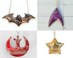 awesome Circuit Board Jewelry Gets Geekier With Fandom Designs