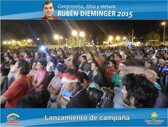 Lanzamiento #Dieminger2015. ex centro de residentes paraguayos ingreso al Hospital SAMIC Oberá. #SiSePuede