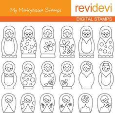 matryoshka designs